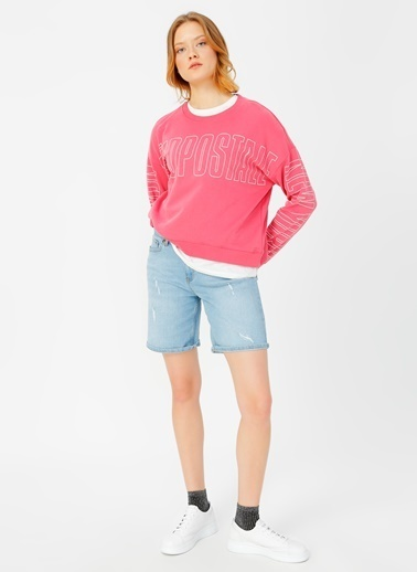 Aeropostale Sweatshirt Pembe